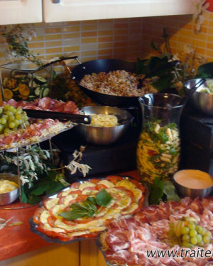 Buffet froid italien