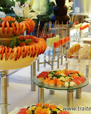 Buffet gourmand par Traiteur passion