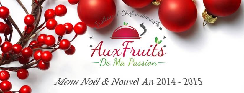 Menu traiteur de fêtes - Noël et Nouvel An 2014-2015