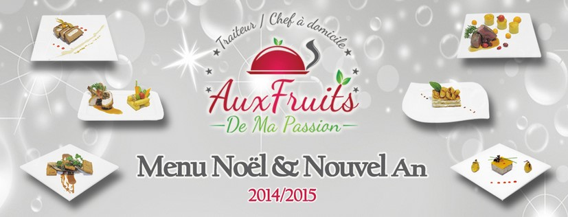 Menu Noël et Nouvel An 2014-2015