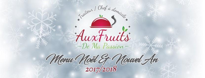 Menu traiteur de fêtes - Noël et Nouvel 2017-2018