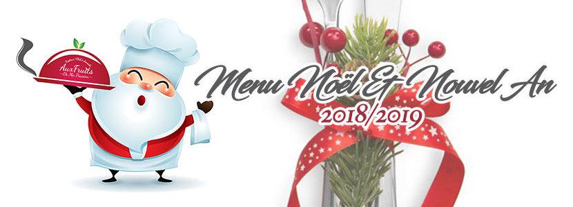 Menu De Noel Pour 10 Personnes.Decouvrez Votre Menu Traiteur Pour Noel Nouvel An 2018 2019