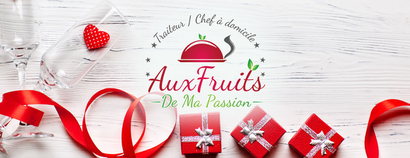 Menu traiteur St-Valentin
